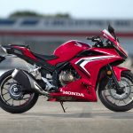 Honda CBR500R sports motorbike