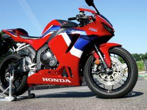 Honda CBR600R sports bike