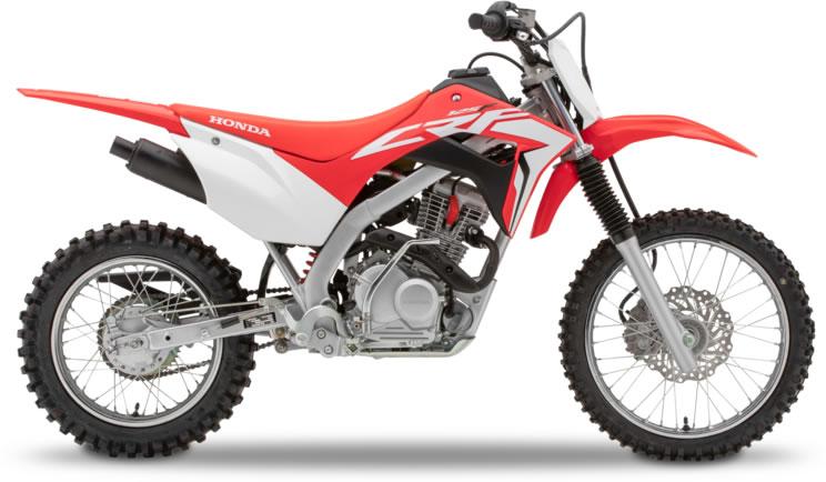 Honda CRF125f off road motorbike