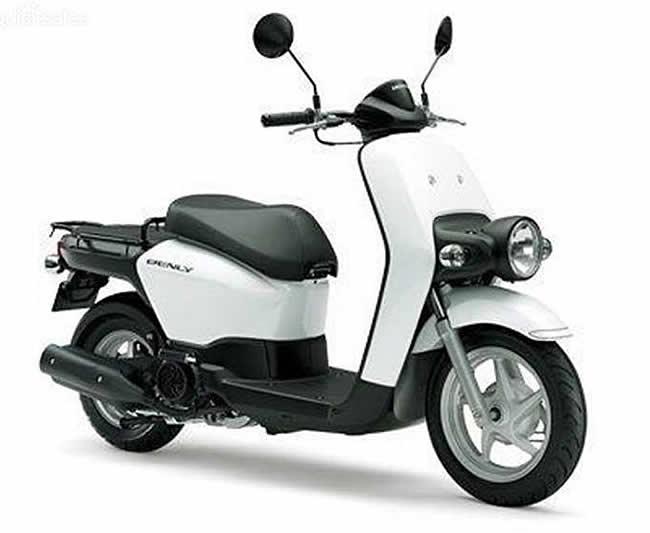 Honda MW110H Benly Scooter
