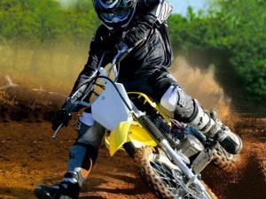Suzuki dr-z125l off-road motocross